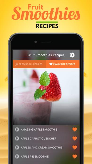 Fruit Smoothies Recipes软件截图2