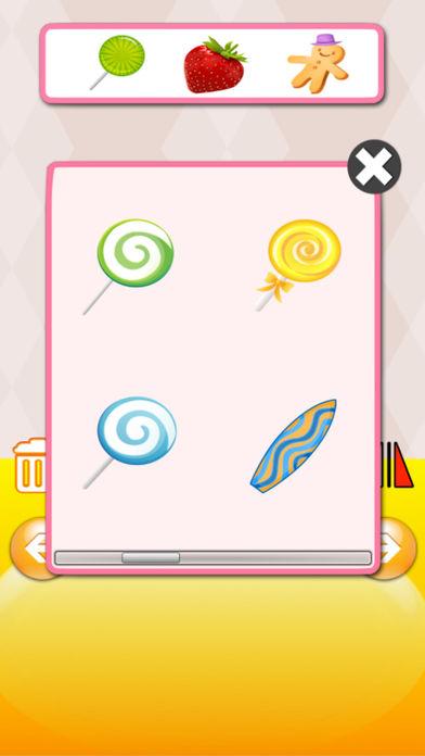 QCat - 冰淇淋厨房学前幼儿及儿童游戏(免费)软件截图2