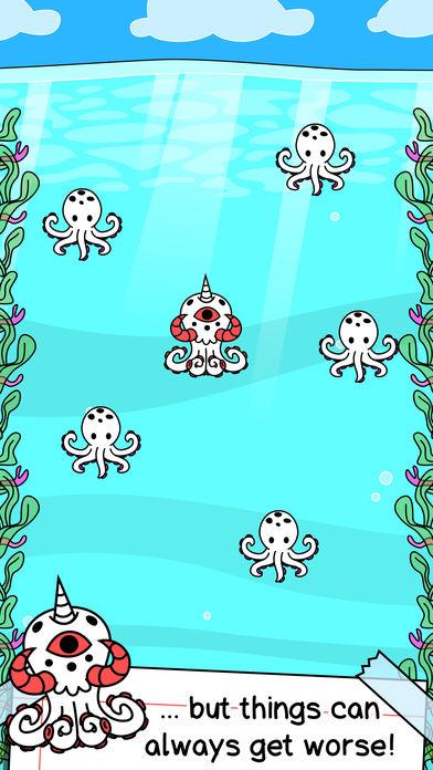 Octopus Evolution | 突变的章鱼软件截图1