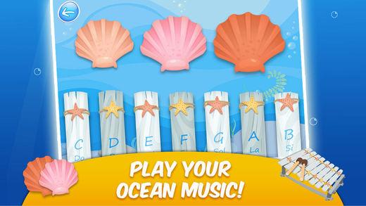 海洋 II  -  记忆翻牌,贴纸,填色和音乐  -  游戏的孩子们软件截图2