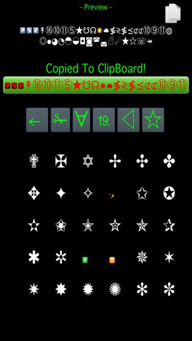 1001 特殊字体软件截图2