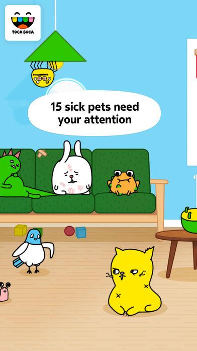 淘卡宝卡:兽医 (Toca Pet Doctor)软件截图1