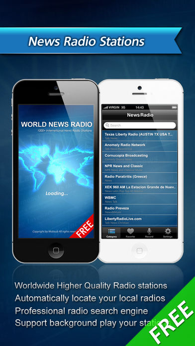 All World News Radio软件截图1