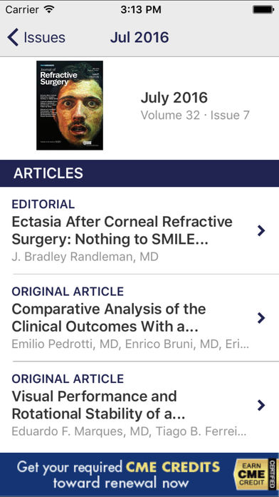 Journal of Refractive Surgery软件截图1
