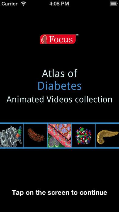 Animated Atlas of Diabetes软件截图0