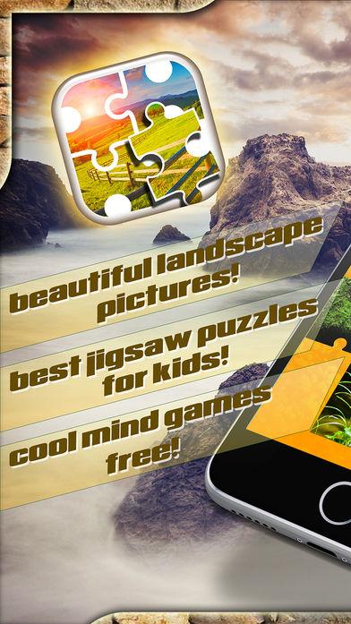自然风景拼图软件截图0