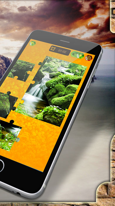 自然风景拼图软件截图1
