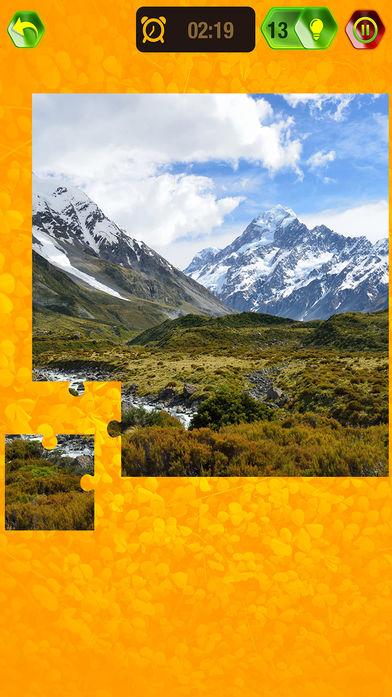 自然风景拼图软件截图2