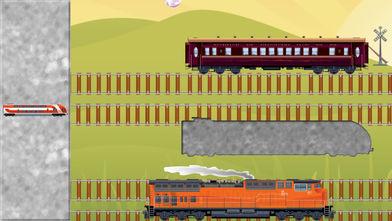 拼图玩具火车幼儿和儿童软件截图1