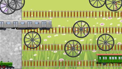 拼图玩具火车幼儿和儿童软件截图2