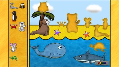 儿童动物游戏:谜语HD软件截图0