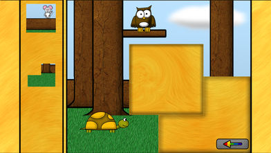 儿童动物游戏:谜语HD软件截图2
