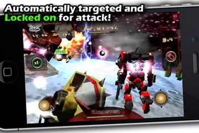 Battle 3D: Robots Sky软件截图2
