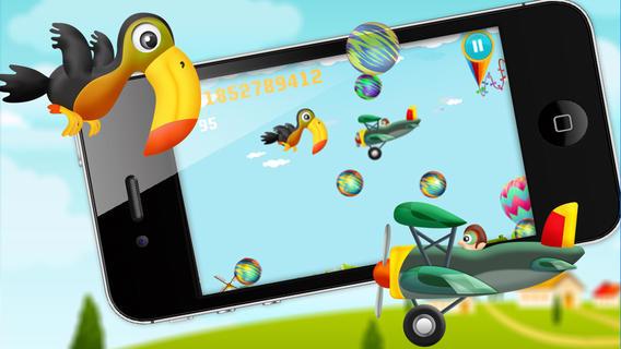 疯狂的小鸟泡泡冒险软件截图1