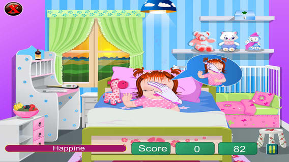 Care Sick Little  Baby for Kids Education软件截图1