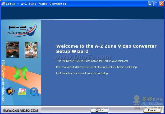 A-Z Zune Video Converter下载