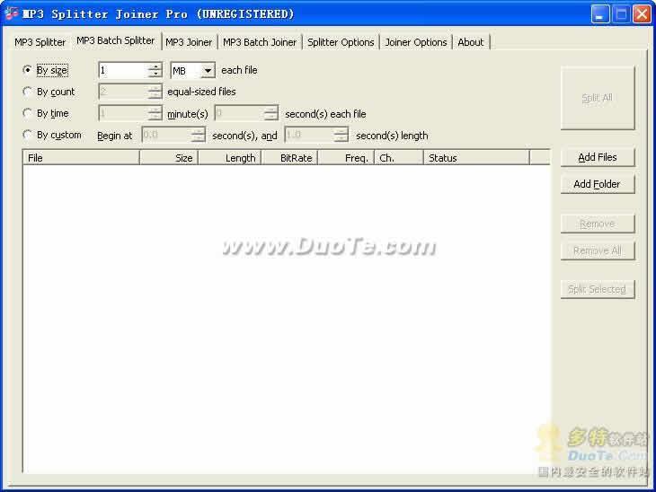 HiFi MP3 Splitter Joiner下载