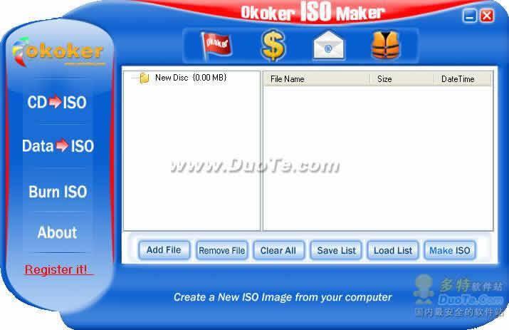 Okoker ISO Maker下载