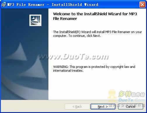 MP3 File Renamer下载