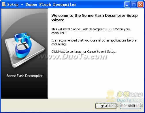 Sonne Flash Decompiler下载