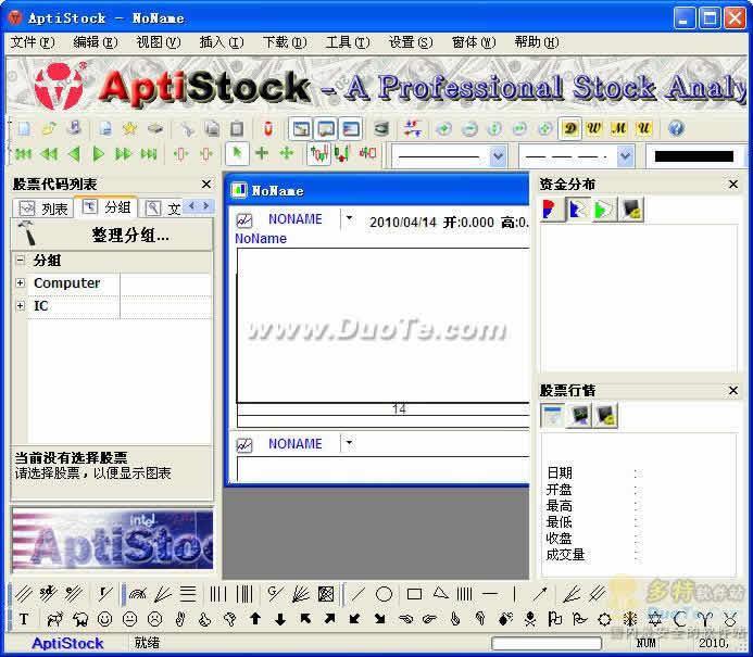 AptiStock股票盘后分析软件下载