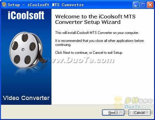 iCoolsoft MTS Converter下载