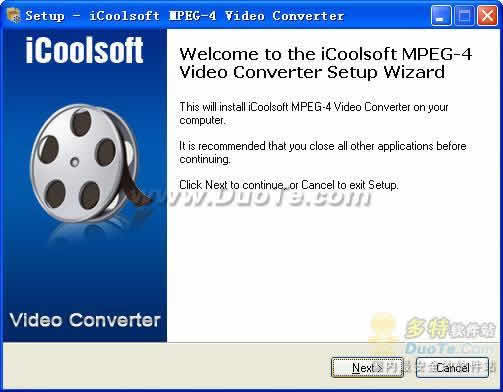 iCoolsoft MPEG-4 Video Converter下载