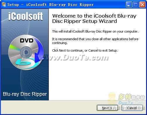 iCoolsoft Blu-ray Disc Ripper下载