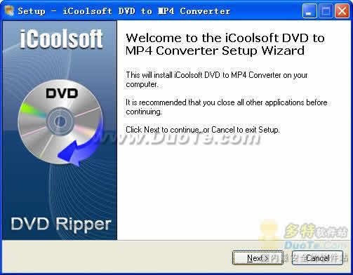 iCoolsoft DVD to MP4 Converter下载