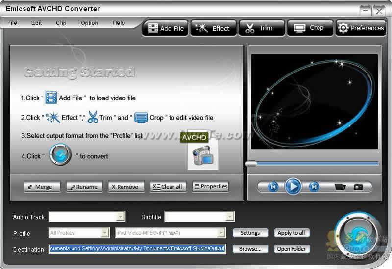 Emicsoft AVCHD Converter下载