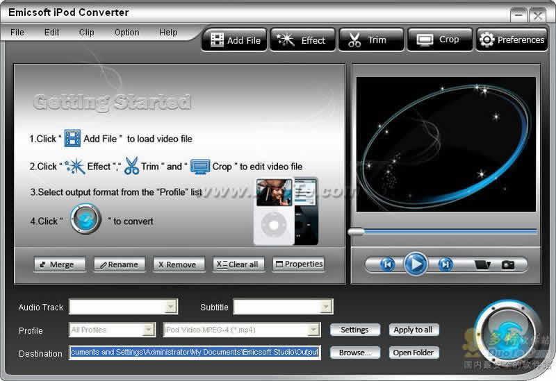 Emicsoft iPod Converter下载