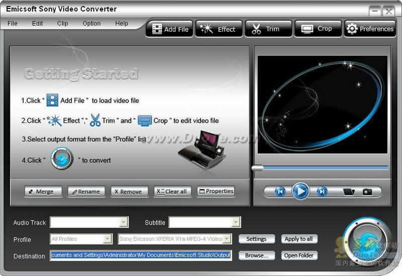 Emicsoft Sony Video Converter下载