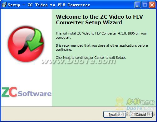 ZC Video to FLV Converter下载