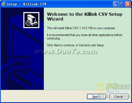 Killink CSV下载
