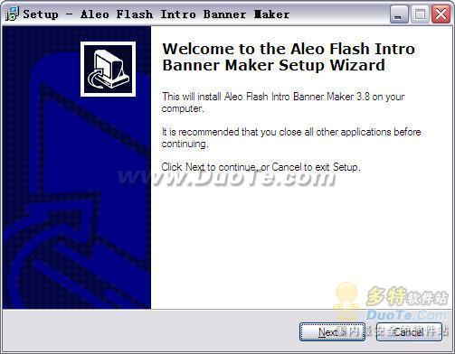 Aleo Flash Intro Banner Maker下载