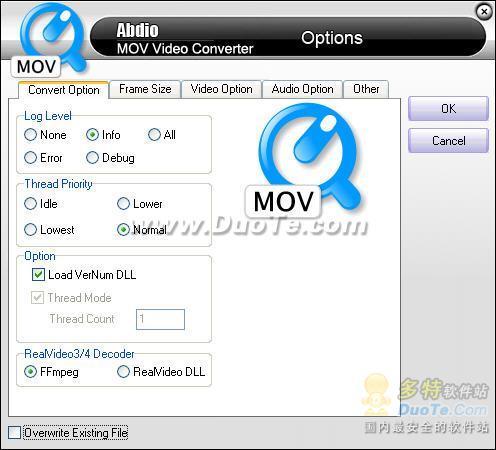 Abdio MOV Video Converter下载