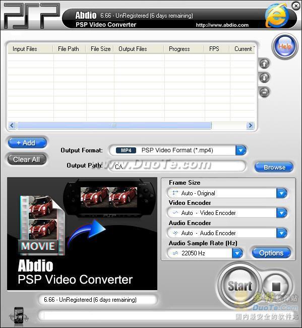 Abdio PSP Video Converter下载