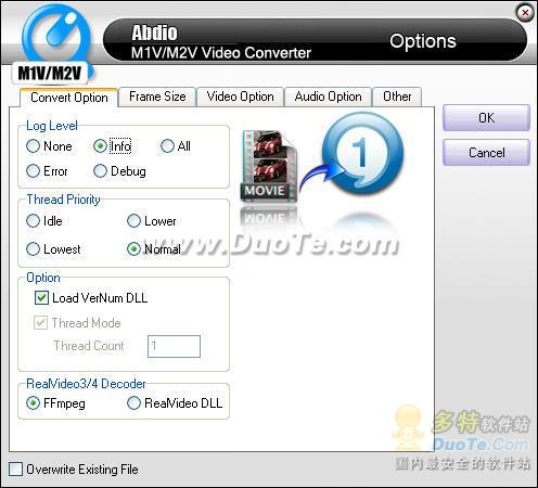 Abdio M1V&M2V Video Converter下载