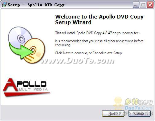 Apollo DVD Copy下载