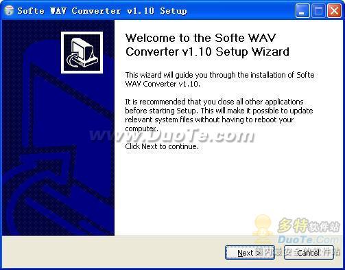 Softe WAV Converter下载