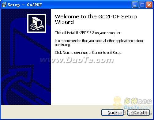 Go2PDF下载