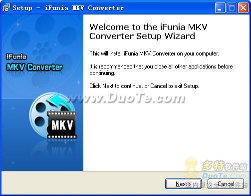 iFunia MKV Converter下载