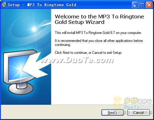 MP3 To Ringtone Gold下载
