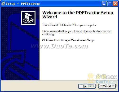 PDFTractor下载