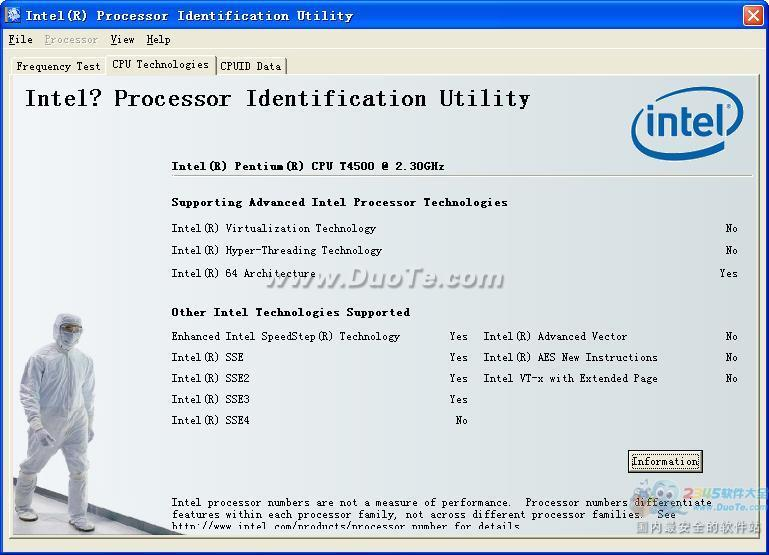 Intel Processor Identification下载
