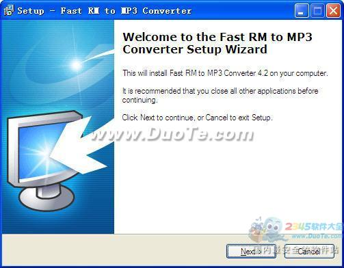 Fast RM to MP3 Converter下载