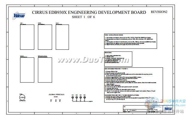 arm开发板原理图(ep9302) PDF文档下载