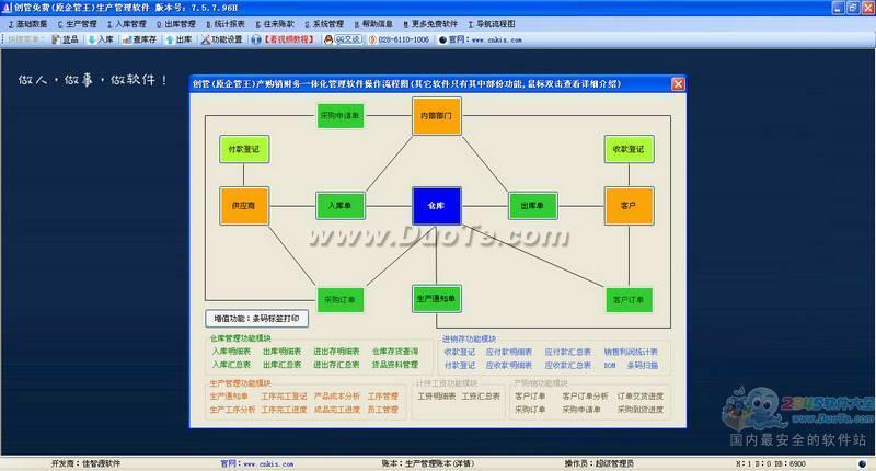 企管王生产管理软件下载