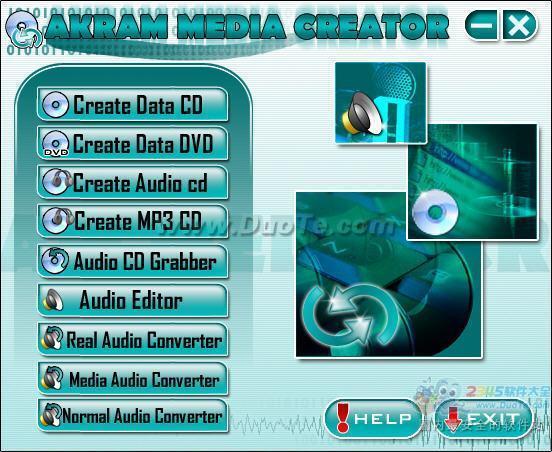 Akram Media Creator(多媒体数据制作)下载