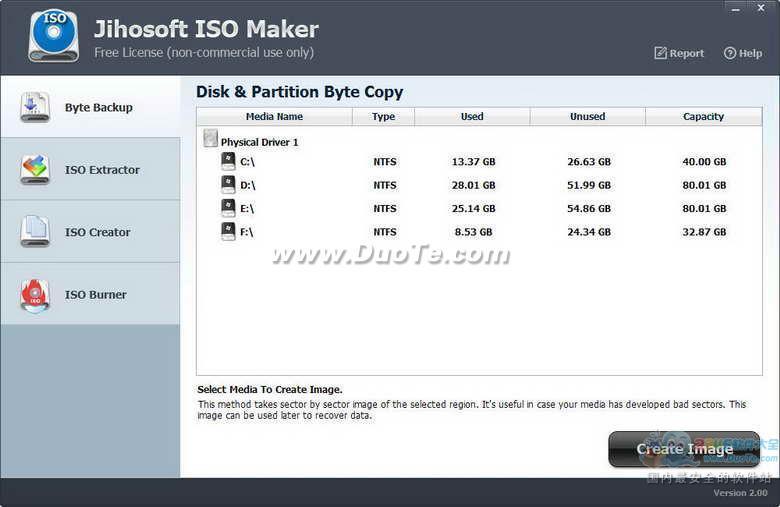 Jihosoft Free ISO Maker(镜像文件助手)下载